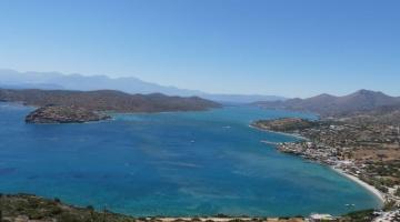 Baie de Mirabello en Crète