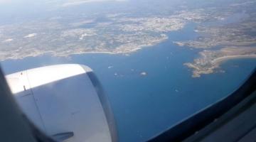Lorient vue du ciel