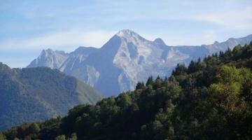 Vue sur le Parc National des Pyrénées